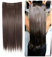 Волосы ТЕРМО на заколках тресс прядь  60см #6т