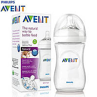 Бутылочка для кормления PHILIPS Avent Natural 260 мл (SCF693/17)