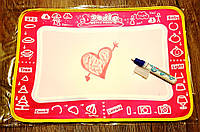 Коврик для рисования водой аква дудл Doodle Water Magic Playmat