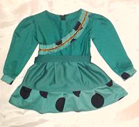 Трикотажное платье на девочку на 1.5-2 года