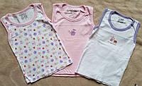 Набор из 3 штук маек для девочки на 2 года из США