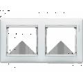 Рамка 2-постовая Legrand Valena (белая) 774452
