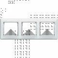 Рамка 3-постовая Legrand Valena (белая) 774453