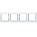 Рамка 4-постовая Legrand Valena (белая) 774454
