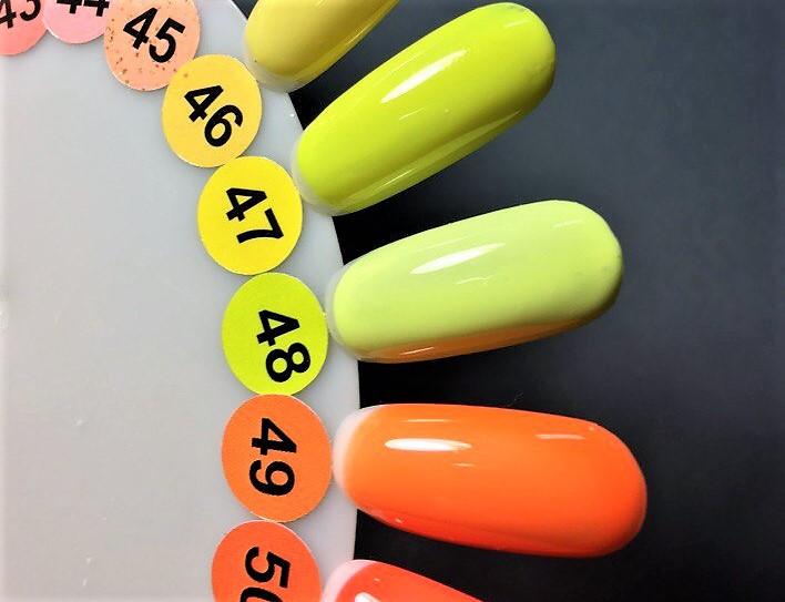 Гель-лак Nice for you № 48 (лимонное мороженое) 8.5 мл