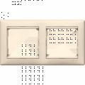 Рамка 2-постовая Legrand Valena (слоновая кость) 774352