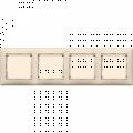 Рамка 4-постовая Legrand Valena (слоновая кость) 774354