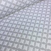 Хлопковая ткань сетка с лепестков №033
