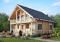 Строительство деревянного дачного дома