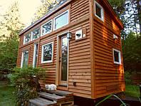 Деревянный дачный домик под ключ