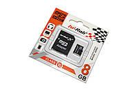 Карта памяти microSDHC, 8Gb, Class10, Hi-Rali, SD адаптер (HI-8GBSDCL10-01)
