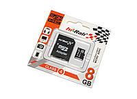 Карта памяти microSDHC, 8Gb, Class4, Hi-Rali, SD адаптер (HI-8GBSDCL4-01)