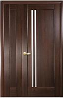 Полуторная (двустворчатая) межкомнатная дверь  НОСТРА ДЕЛЛА, ПВХ DeLuxe