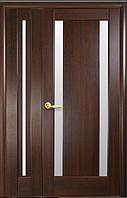 Полуторная (двустворчатая) межкомнатная дверь  НОСТРА ЛУИЗА, ПВХ DeLuxe