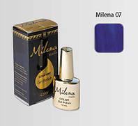Гель-лак для ногтей «Milena» 07 Арго (бескислотный, гипоаллергенный, высоко пигментированный состав, не течет)