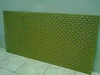 Декоративная  перфорированная панель Онтарио Бланк (под покраску) 1200х600х3,5 мм