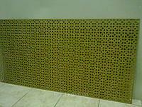 Декоративная  перфорированная панель Альберта Бланк (под покраску) 1200х600х3,5 мм
