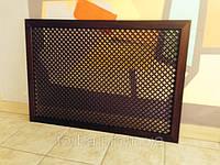 Экран декоративный Колумбия орех 980х680 мм. (МДФ)