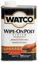 ПОЛИУРЕТАНОВЫЙ ПОЛИРОЛЬ ПО ДЕРЕВУ  Watco Wipe-On Poly (США)