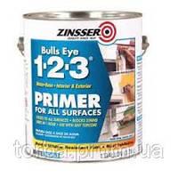 Zinsser BuLL*s Eye 1-2-3 - грунт для любых поверхностей