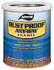 Краска по металлу СЕРЫЙ RUST PROOF ANY-WAY Enamel (США) 0.94
