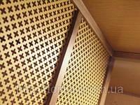 Декоративная перфорированная панель из МДФ в ассортименте 1200х600х3,5 мм, фото 1