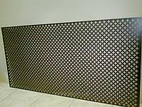 Декоративная  перфорированная панель Колумбия Орех 1200х600х3,5 мм
