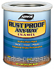 Краска по металлу КОРИЧНЕВЫЙ RUST PROOF ANY-WAY Enamel (США) 0.94