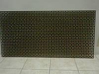 Декоративная  перфорированная панель Альберта Орех 1200х600х3,5 мм