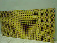 Декоративная  перфорированная панель Альберта Бук 1200х600х3,5 мм
