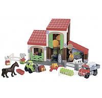 Конструктор Ферма с животными Ecoiffier 3044
