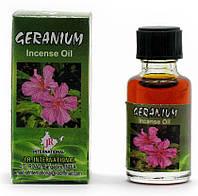 """Ароматичне масло """"Geranium"""" (8 мл) (Індія)"""