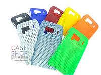 Пластиковый чехол в сеточку для Nokia N8
