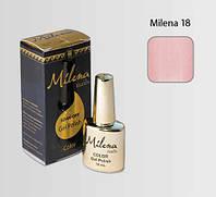 Гель-лак для ногтей «Milena» 18 светло-розовый Арго (бескислотный, гипоаллергенный, не течет)