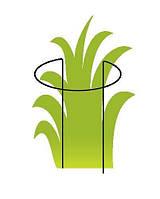 "Опора для растений ТМ ""ORANGERIE"" тип P (зеленый цвет, высота 400 мм, кольцо 180 мм, диаметр проволки 4 мм)"