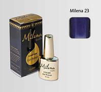 Гель-лак для ногтей «Milena» 23 яркий синий Арго (бескислотный, гипоаллергенный, не течет)