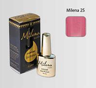 Гель-лак для ногтей «Milena» 25 персидский розовый Арго (бескислотный, гипоаллергенный, не течет)