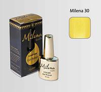 Гель-лак для ногтей «Milena» 30 Арго (бескислотный, гипоаллергенный, высоко пигментированный состав, не течет)