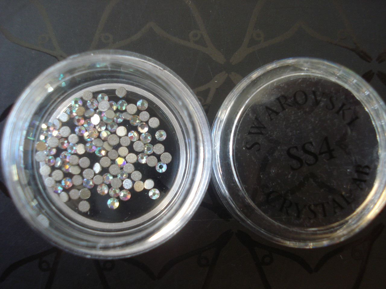 Камешки для ногтей SS4 AB (хамелеоны)