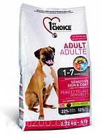 1st Choice Adult Sensitive Skin & Coat корм для собак с чувствительной кожей, 15 кг