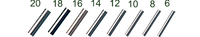 Аксессуары для рыбалки unknown vendor Трубка Gurza обжимная Brass Tube Swt1004 d=0.6mm №6