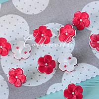 Пуговицы детские Цветочек розовый