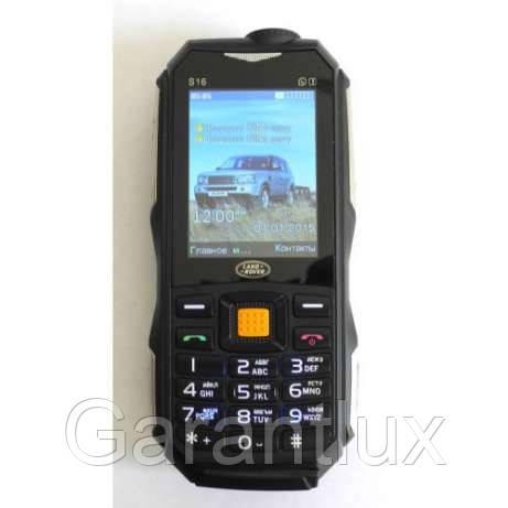 1f6eaa7ea8cb Противоударный телефон Land Rover S16 2 SIM ленд ровер с батареей 10000  Мач, фото 1 -15% + подарок