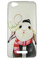 Чехол для Fly FS505 Nimbus 7 с рисунком Кролик