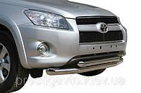 Защита передняя, дуга по бамперу двойная Toyota RAV4