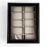 Шкатулка для часов и браслетов на 10 отделений, фото 9