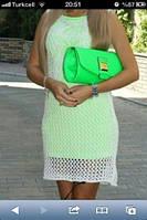 Платье 3353 сеткой Турция, фото 1