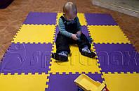 Пол - пазл для детской комнаты, 12 элементов
