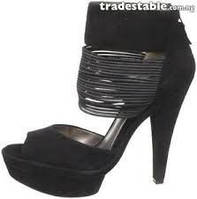 Босоножки женские замшевые Heidi Klum США на каблуке до скидки 195$