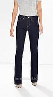 Джинсы LEVIS 315 Shaping boot cat  утягивающие темносиние джинсы больших размеров LEVIS (50, 52, 54,